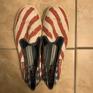 Red, White, and Blue Keds